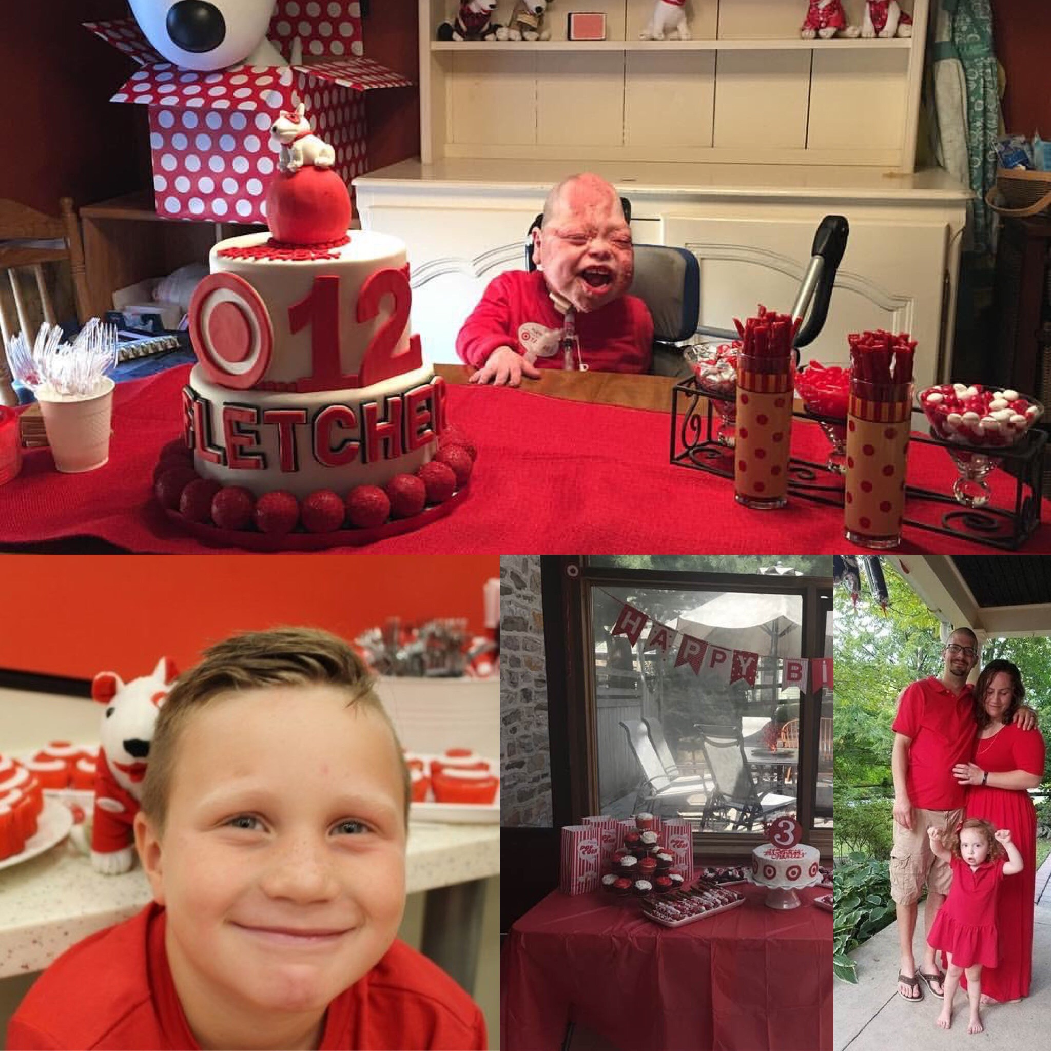 Viral TargetThemed Birthday Parties