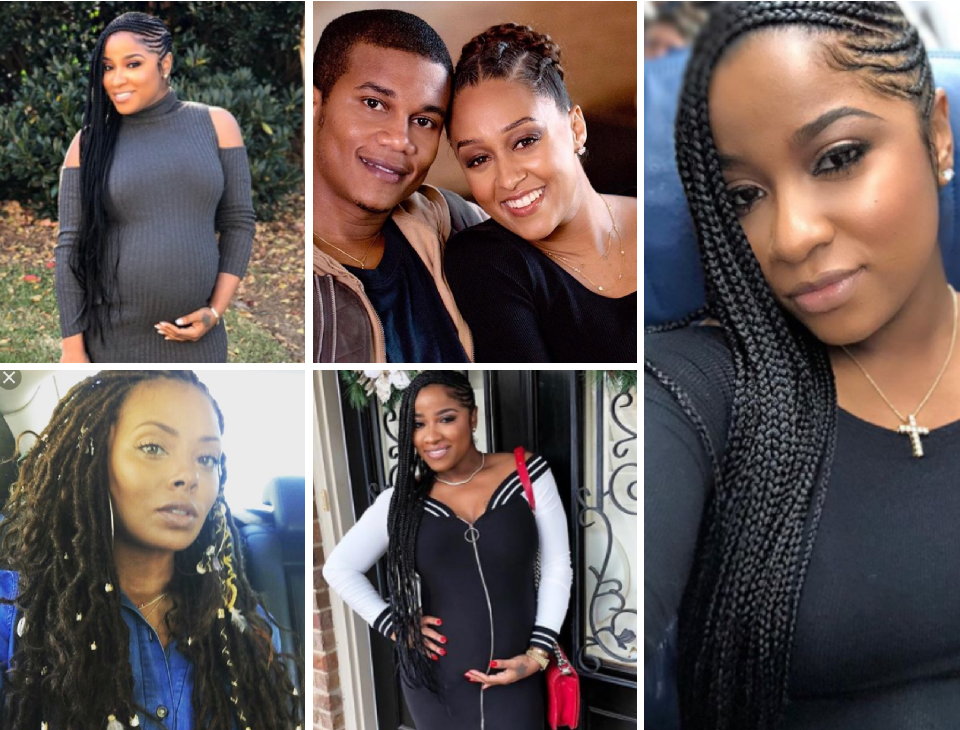 Expecting Celebs Are Rocking Braids Protective Hair Style