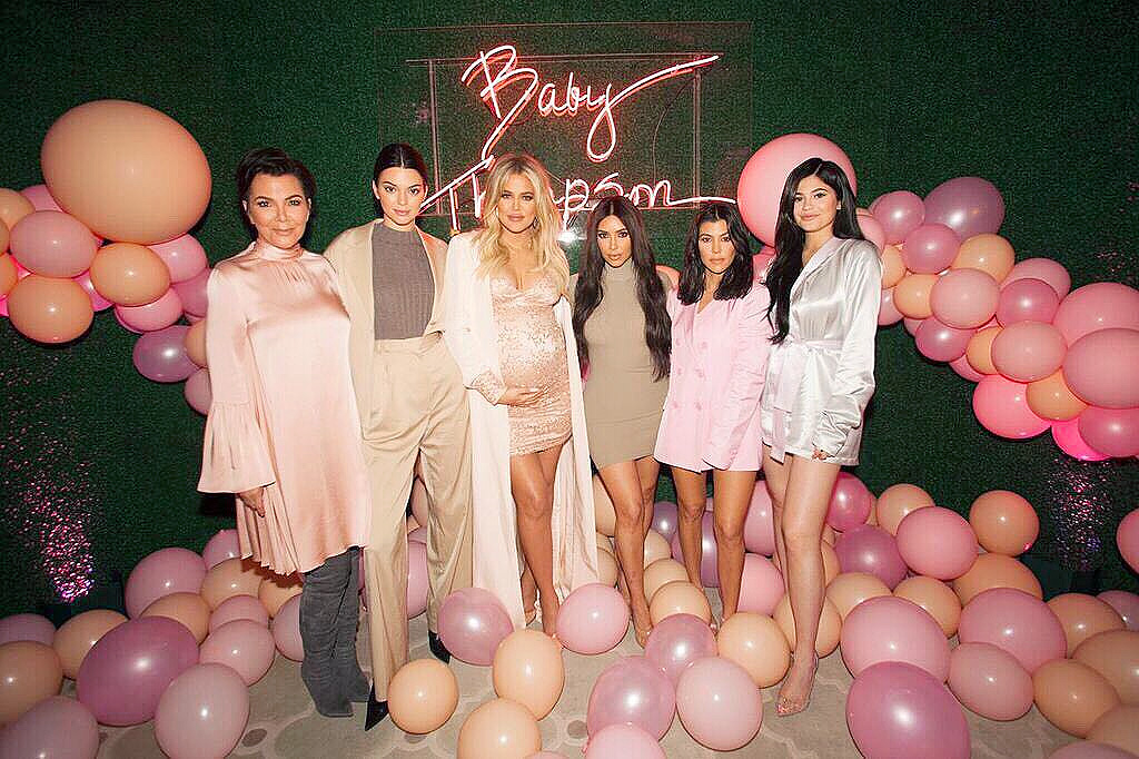 khloe b aby shower
