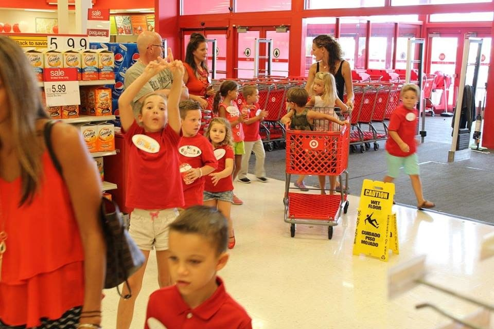 Viral: Target-Themed Birthday Parties