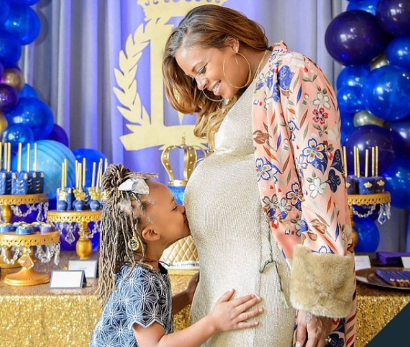 Inside Eva Marcille's Royal Themed Baby Shower
