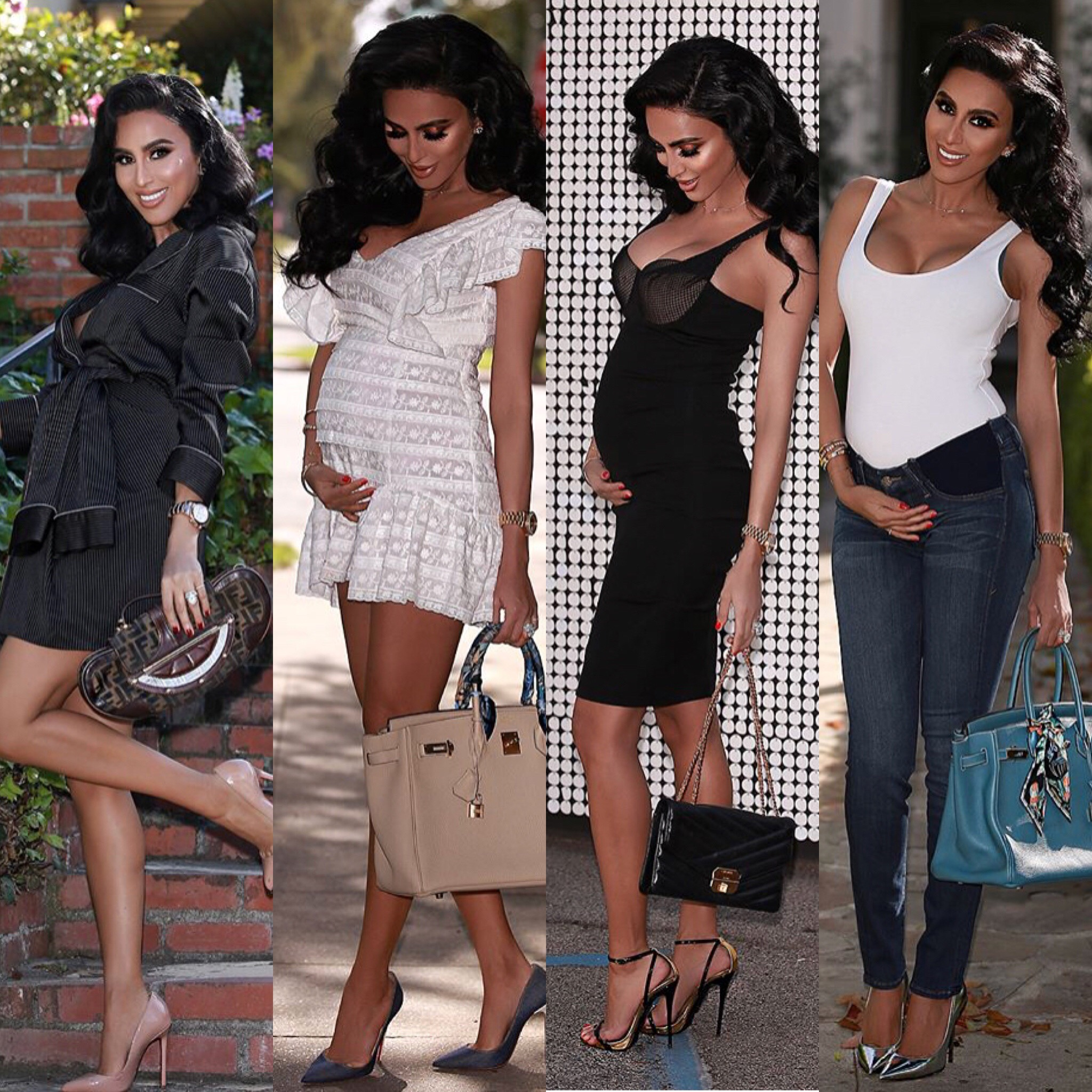 a5d22896d5 Lilly Ghalichi s Maternity Style is  It  Fashion Blogger Worthy