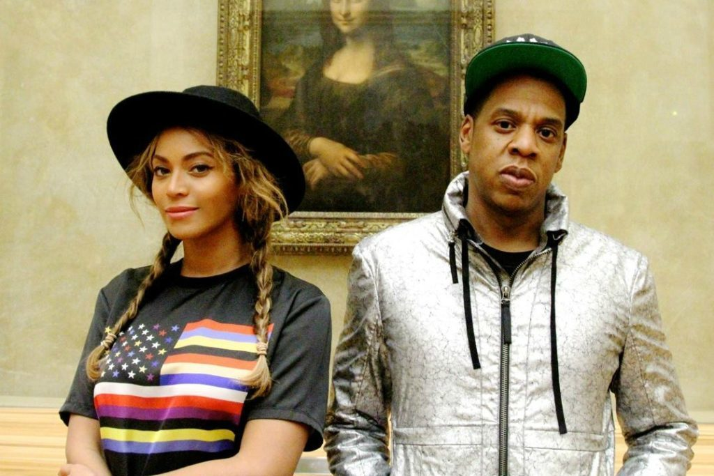 bey and jay and monalisa