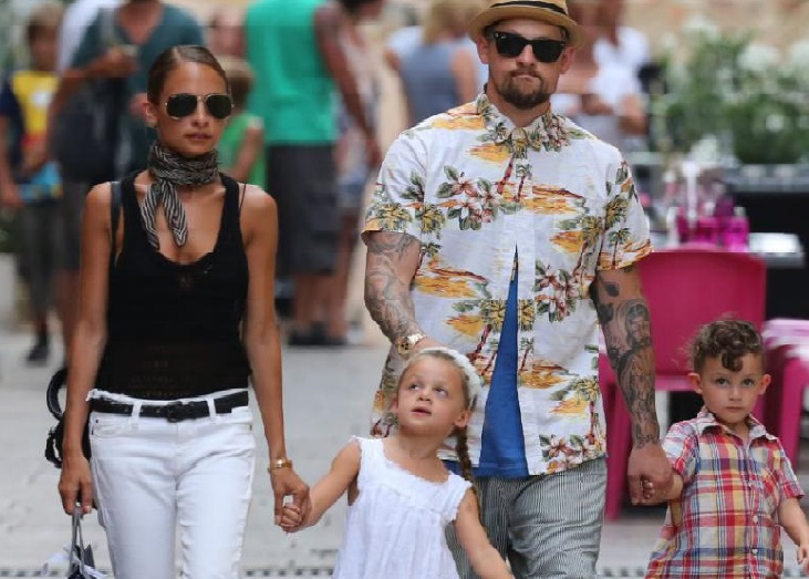 nicole richie joel madden and family
