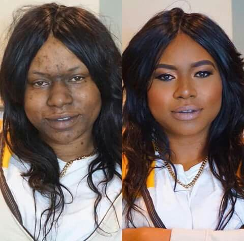 20 Amazing Before And After Makeup Transformations