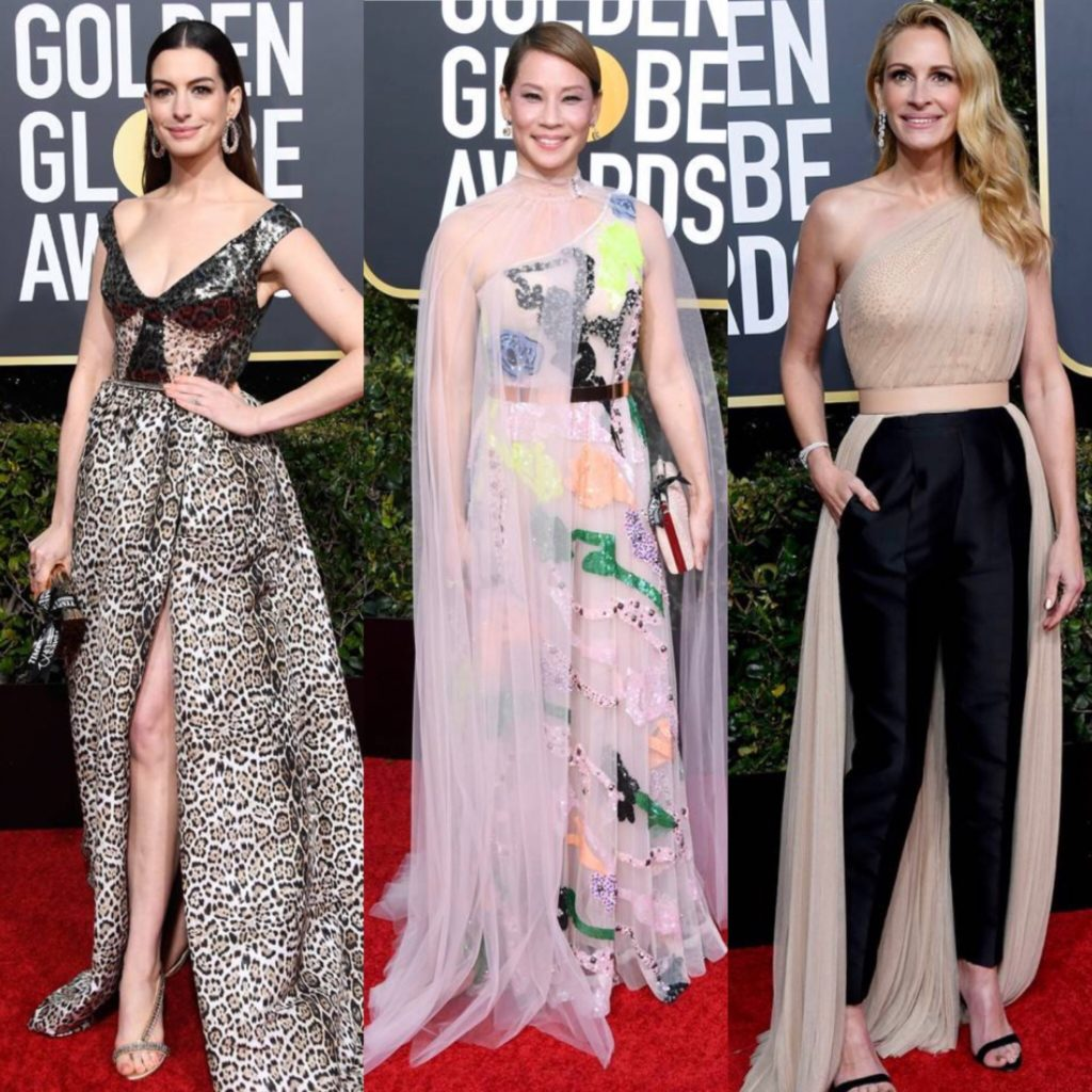 The 2019 Golden Globes Awards Red Carpet Trends