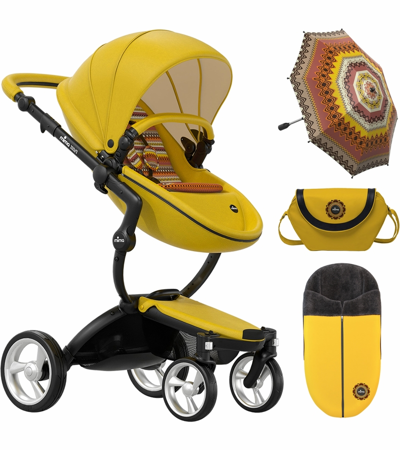 mima xari complete stroller limited edition yellow 67