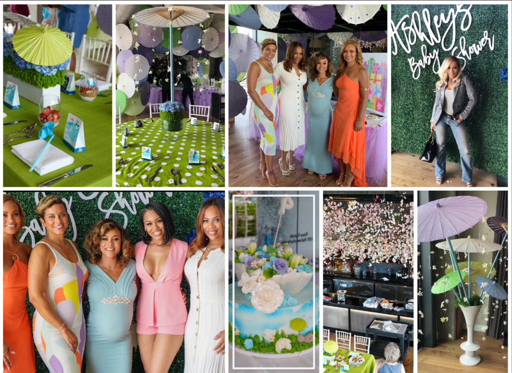 Bravo TV real housewives of potomac ashley darby's baby shower la vie DC